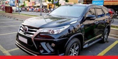Cho thuê xe tự lái Toyota Fortuner 7 chỗ Đà Nẵng