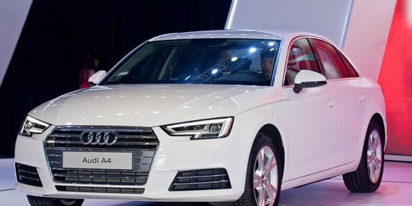 Cho thuê xe hợp đồng tháng 4 chỗ Audi A4 tại Đà Nẵng