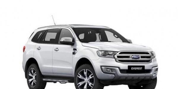Thuê xe tự lái 7 chỗ Ford Everest tại Đà Nẵng