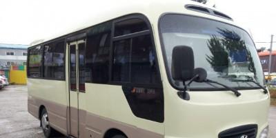 Cho thuê xe hợp đồng tháng 24 chỗ Hyundai County tại Đà Nẵng