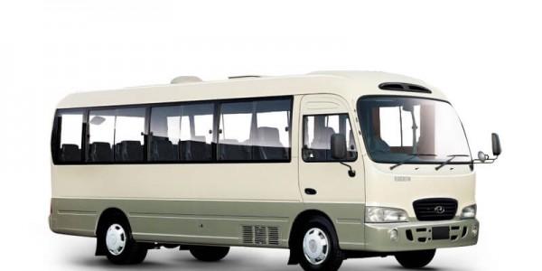 Thuê xe du lịch 24 chỗ Hyundai County tại Đà Nẵng