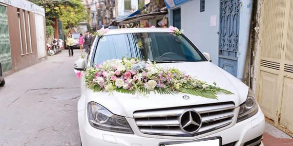 Cho thuê xe cưới cao cấp Mercedes Đà Nẵng