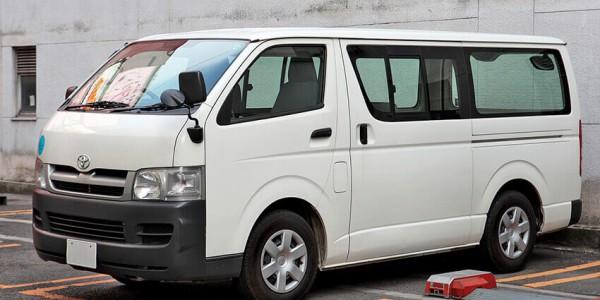 Cho thuê xe hợp đồng tháng 16 chỗ Toyota Hiace Đà Nẵng