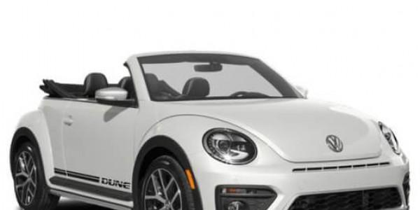 Cho thuê xe mui trần Volkswagen Beetle