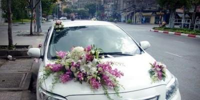 Cho thuê xe cưới Toyota Vios tại Đà Nẵng