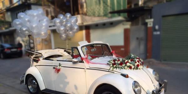 Thuê xe cưới mui trần Volkswagen Đà Nẵng