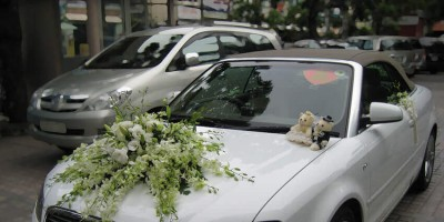 Cho thuê xe cưới Audi A4 tại Đà Nẵng