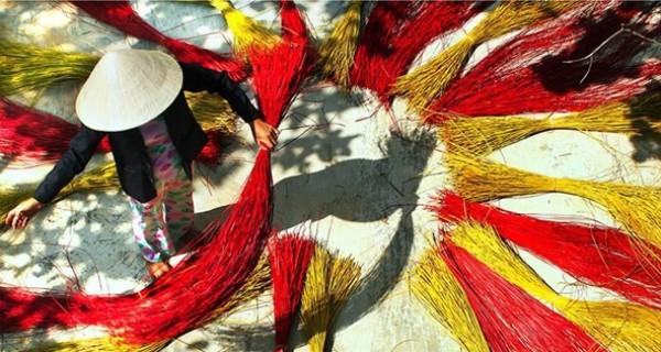 Khám phá nét đẹp bình dị của làng chiếu Cẩm Nê Đà Nẵng
