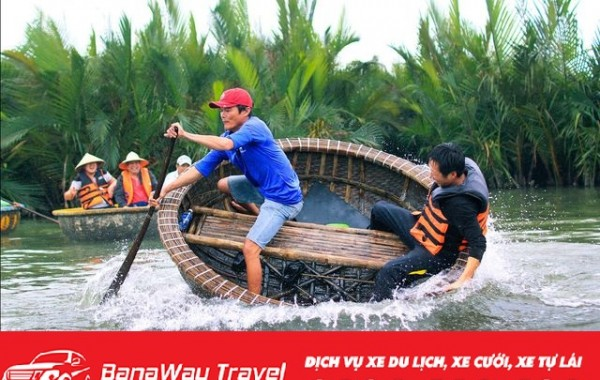 Trải nghiệm vũ điệu lướt thúng tại rừng dừa Cẩm Thanh Hội An