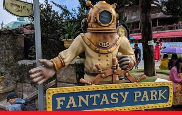 Những câu chuyện hoang đường về Fantasy Park Bà Nà Hills!