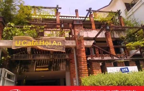 U Cafe Hội An – một vẻ đẹp tinh khiết cạnh dòng Sông Hoài thơ mộng