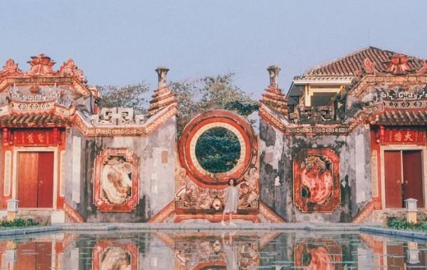 Tam Quan Bà Mụ Hội An- địa điểm check-in mới toanh
