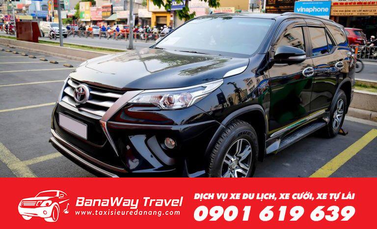 Thuê xe tự lái Fortuner Đà Nẵng
