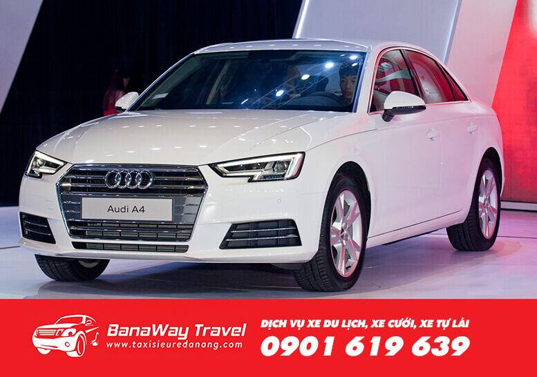 Cho thuê xe du lịch Audi A4 - Banaway Travel