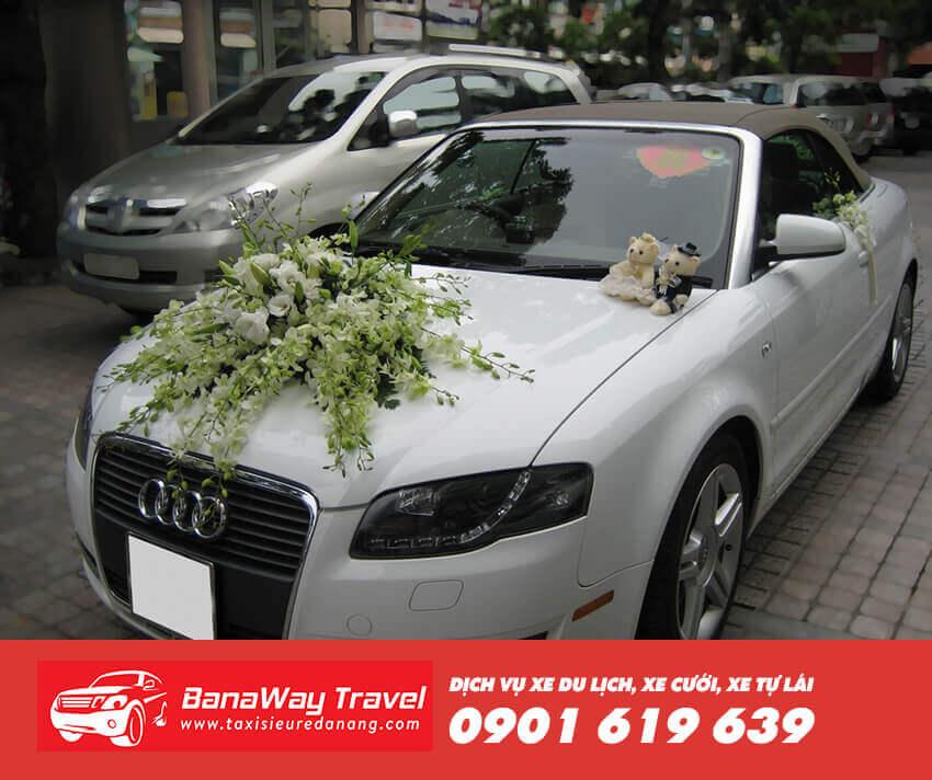 Thuê xe cưới Audi A4