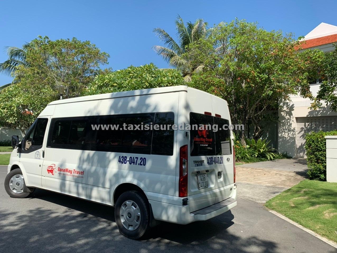 Thuê xe 16 chỗ ford transit Đà nẵng