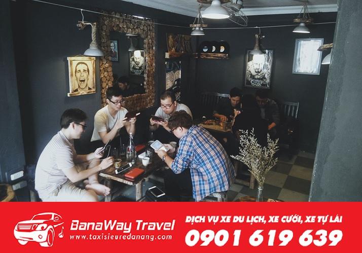 quán cà phê cổ Đà Nẵng